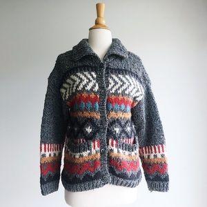 Liz Claiborne Thick Knit Cardigan, size s